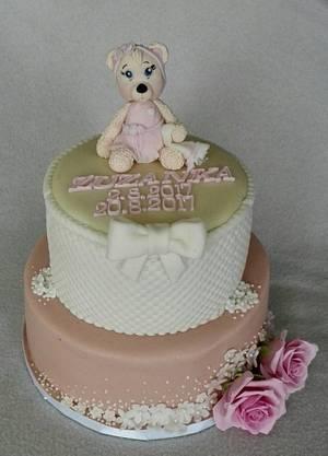 Little teddy bear - Cake by Anka
