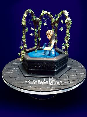 Water Dragon - The Birth - Cake by Sweet Rocket Queen (Simona Stabile)