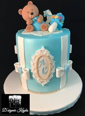 A baptismal cake - Cake by Phey