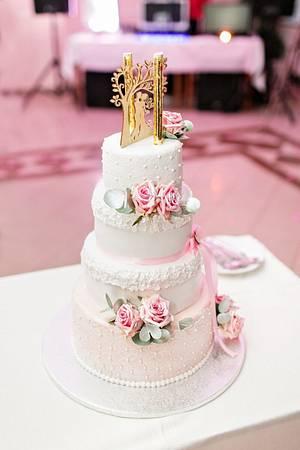 My wedding cake - Cake by Kejkyodmajky