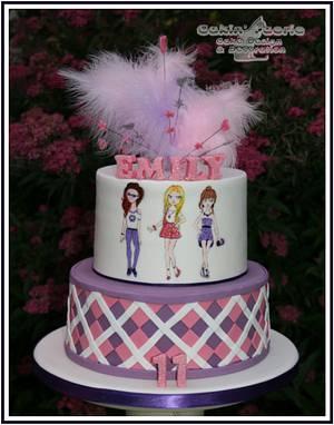 Fashionista  - Cake by Suzanne Readman - Cakin' Faerie