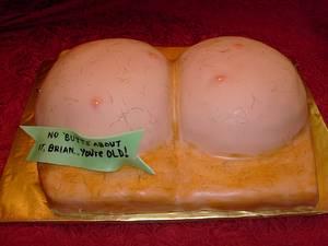 Naughty/Gross Out Alert...Brian's Butt - Cake by Pamela