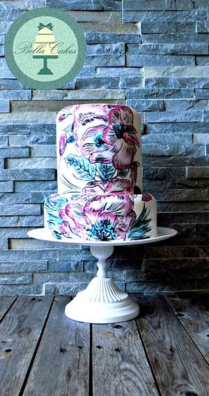 floral - Cake by Bella Cakes