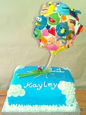 Floating Muppet balloon cake - Cake by kellywalker123