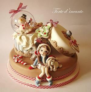 """Sweet Xmas"" - Cake by Torte d'incanto"