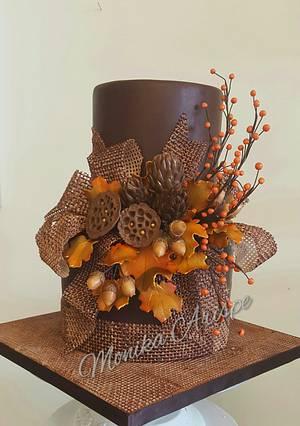 Thanksgiving Cake  - Cake by Monika Arispe