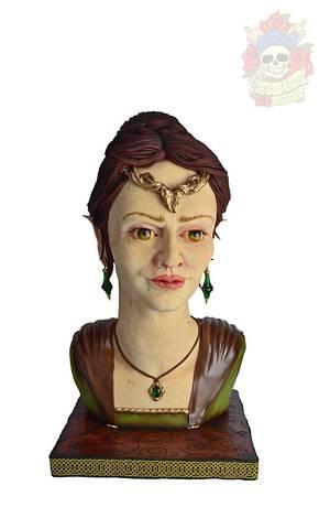 Eve, the Elvish Queen - Cake by Karen Keaney