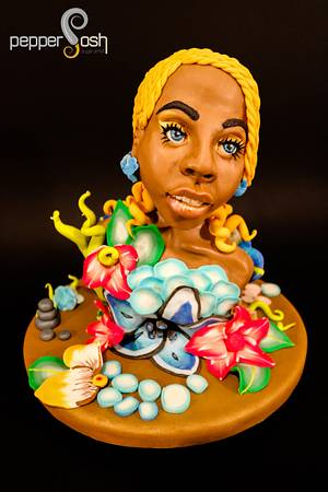 Oshun @The Lekki-Ajah International Cake Fair 2017 (Nigeria) - Cake by Pepper Posh - Carla Rodrigues