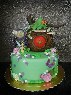 Tinker Bell Fairy Cake - Cake by Lily Vanilly
