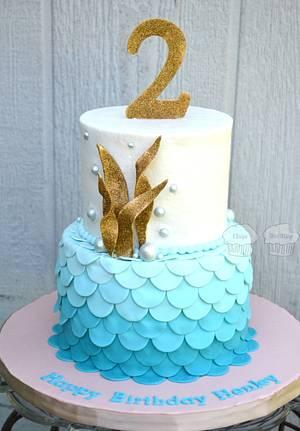 Mermaid Henley - Cake by Susan
