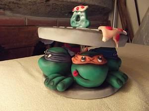 TMNT Topper - Cake by Francesca Liotta