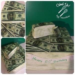 Dollar Dollar Bill - Cake by CandyGirl24
