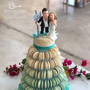 Macaron Wedding Cake - Cake by Nicola Keysselitz