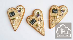 Door of the Heart - Cake by PUDING FARM
