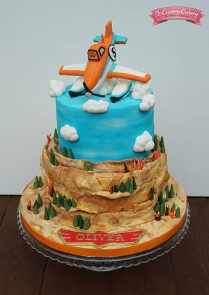 Planes Fire and Rescue - Cake by The Custom Cakery