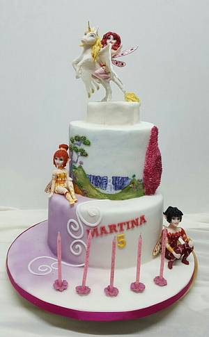 Mia and me cake - Cake by claudiamarcel