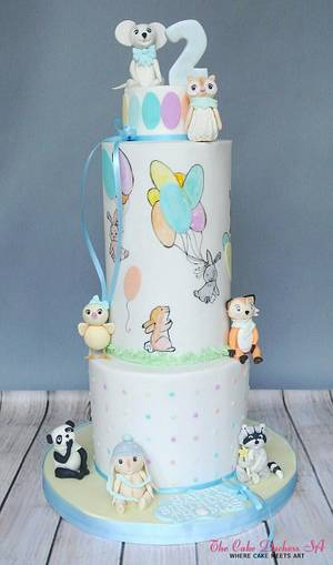 The Tale of the Magical Easter Eggs - Cake by Sumaiya Omar - The Cake Duchess