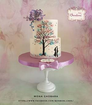 Tree of love  - Cake by mona ghobara/Bonboni Cake