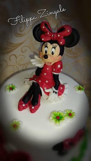 Minnie 's love - Cake by filippa zingale