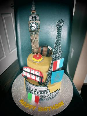 Europe Cake - Cake by The Cakery