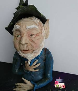 """""""Sugar myths and fantasy"""" mythical man - Cake by Love it cakes"""
