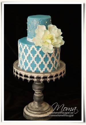 Elegant cake - Cake by Monika