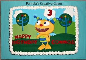 Henry Hugglemonster for Connor - Cake by Pamela Sampson Cakes