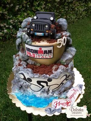 Jeep and Ironman - Cake by Dolcidea creazioni