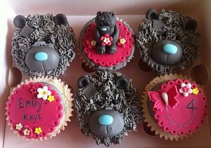 Tatty Teddy themed cupcakes for Emily - Cake by Carrie