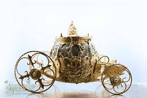 New 2015 Cinderella Carriage Cake - Cake by Sucrette, Tailored Confections
