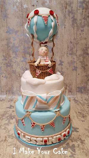Baptism of Alessandro - Cake by Sonia Parente