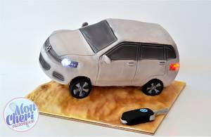 volkswagen touareg - Cake by Mon Cheri Cakes