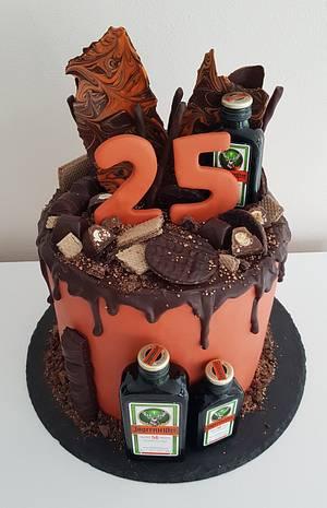 Jägermeister Drip Cake / Torte - Cake by Nina