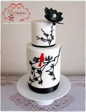 MAGNOLIA DREAMS - Cake by Agatha Rogowska ( Cakefield Avenue)