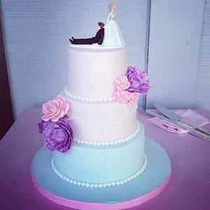 Peonies and Roses - Cake by SweetAsSugar