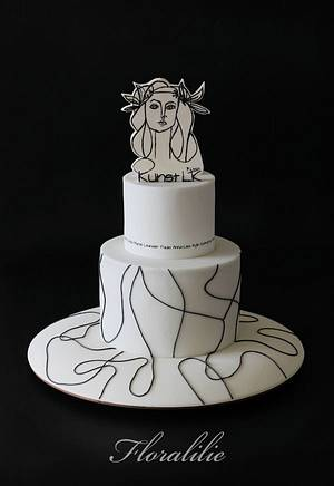 Picasso Cake - Cake by Floralilie