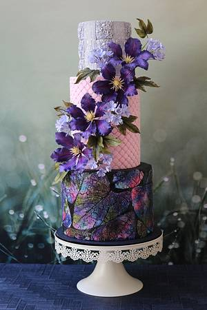Poetry in Purple - Cake by Sweet Symphony