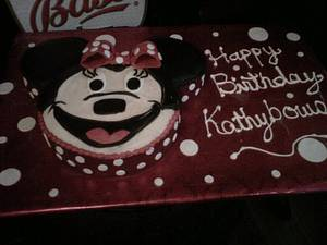 Minnie Birthday Cake - Cake by Maureen