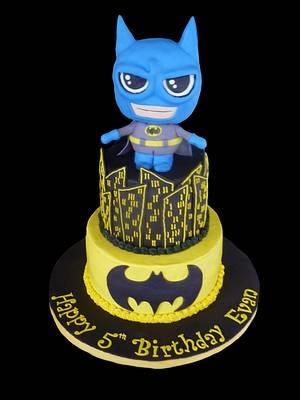 Batman! - Cake by cakemomma1979