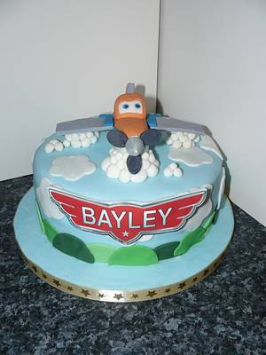 Disney Planes Cake Edible Dusty - Cake by Krazy Kupcakes