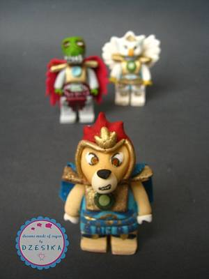 LEGO CHIMA CAKE TOPPER - Cake by Dzesikine figurice i torte