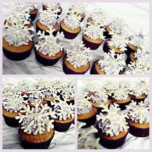 Winter Wonderland Cupcakes - Cake by Princess of Persia