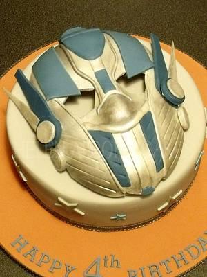 Transformer / Optimus Prime - Cake by Helen Alborn