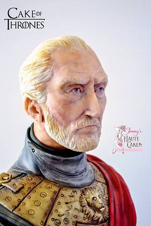 Tywin Lannister Game of Thrones - Cake by Jenny Kennedy Jenny's Haute Cakes