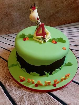 Funny giraffe - Cake by Love it cakes