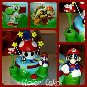 Mario Cake - Cake by Carrie Freeman