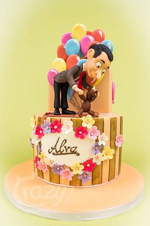 Mr Bean Birthday Cake - Cake by Crazy Sweets