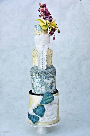 Couture Cakers International 2017 - Cake by Anna
