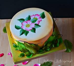 Autumn Cake - Cake by Sylwia Sobiegraj The Cake Designer