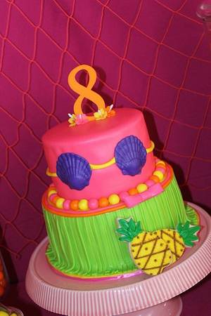 Luau Party  - Cake by Kimberly Cerimele
